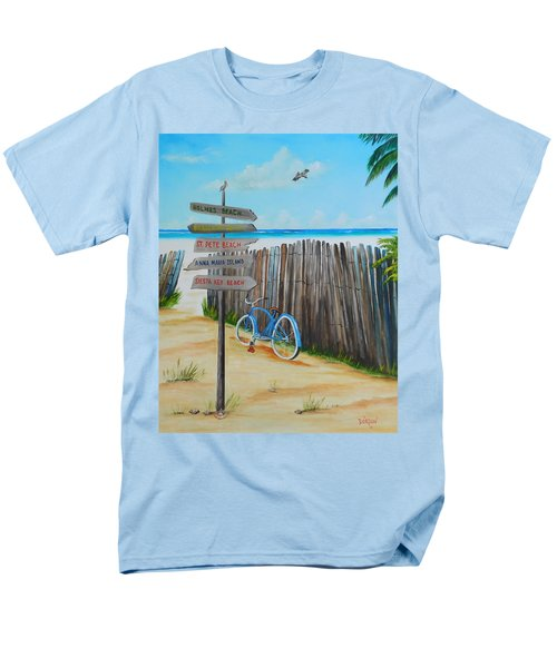 My Favorite Beaches Men's T-Shirt  (Regular Fit) by Lloyd Dobson