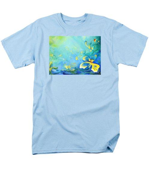 My World Men's T-Shirt  (Regular Fit) by Teresa Wegrzyn