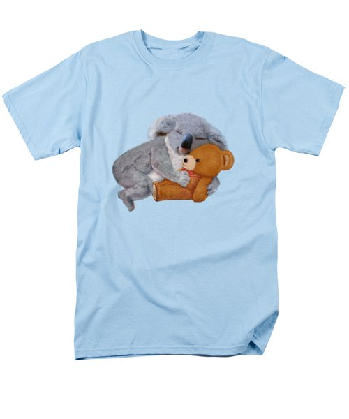 Naptime With Teddy Bear Men's T-Shirt  (Regular Fit)
