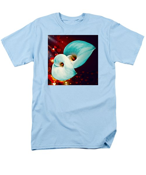 Men's T-Shirt  (Regular Fit) featuring the photograph Natures Heart by Nick Kloepping