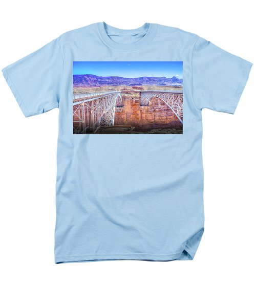 Navajo Bridge Men's T-Shirt  (Regular Fit) by Mark Dunton