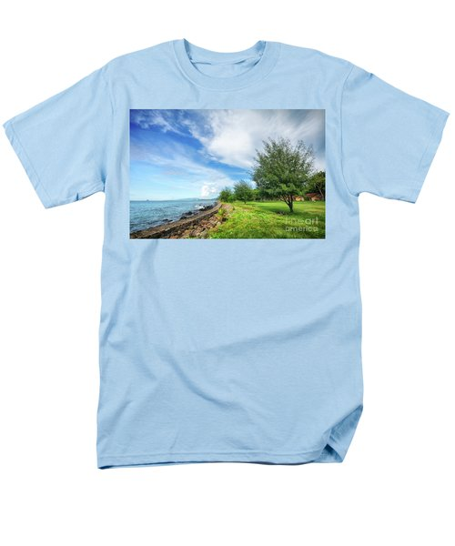 Men's T-Shirt  (Regular Fit) featuring the photograph Near The Shore by Charuhas Images