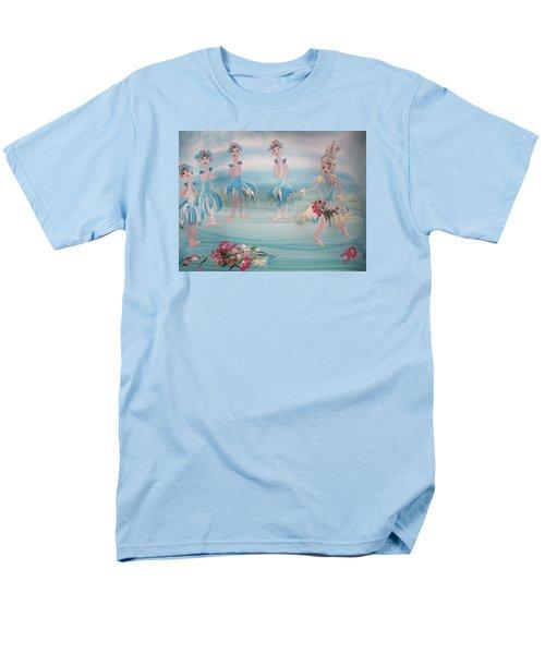 New Ballet Curtain Call Men's T-Shirt  (Regular Fit) by Judith Desrosiers