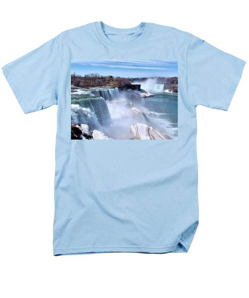 Niagara Falls Men's T-Shirt  (Regular Fit) by Elizabeth Dow
