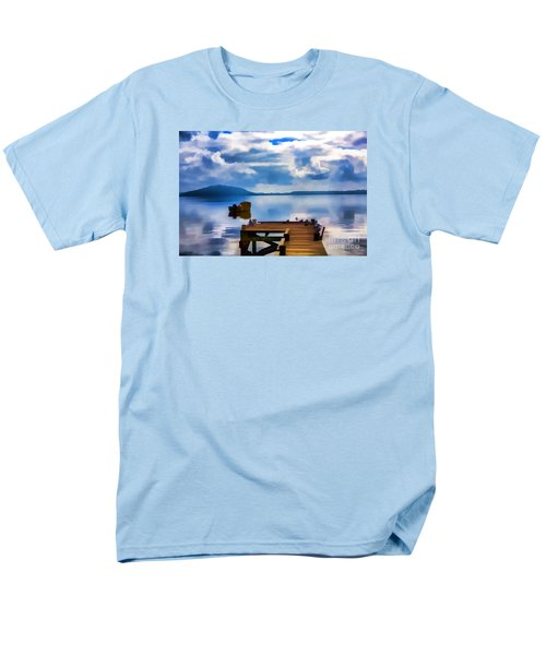 Men's T-Shirt  (Regular Fit) featuring the photograph Nice Dock by Rick Bragan
