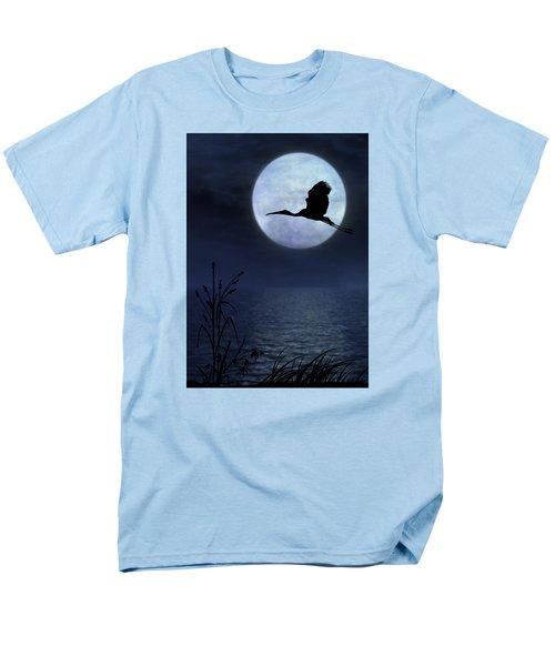 Night Flight Men's T-Shirt  (Regular Fit) by Christina Lihani