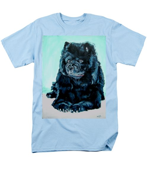 Men's T-Shirt  (Regular Fit) featuring the painting Nikki The Chow by Bryan Bustard