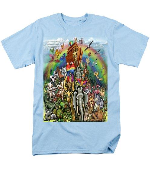 Noah's Ark Men's T-Shirt  (Regular Fit) by Kevin Middleton