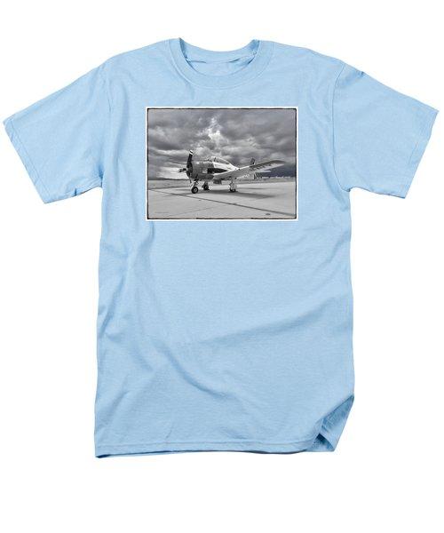 North American T-28 Men's T-Shirt  (Regular Fit) by Douglas Castleman