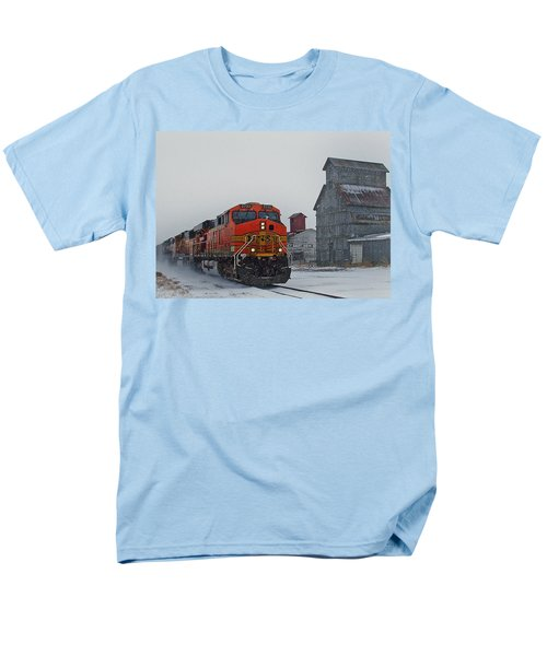 Northbound Winter Coal Drag Men's T-Shirt  (Regular Fit) by Ken Smith