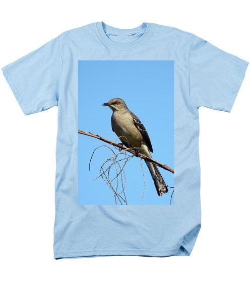 Northern Mockingbird Men's T-Shirt  (Regular Fit) by Bruce J Robinson