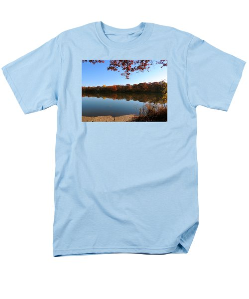 Men's T-Shirt  (Regular Fit) featuring the photograph November Colors by Teresa Schomig