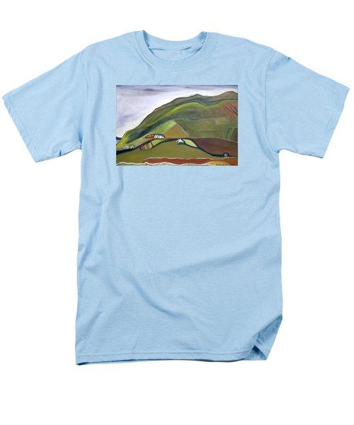 O Mountains That You Skip Men's T-Shirt  (Regular Fit)