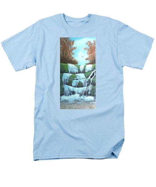 October Falls Men's T-Shirt  (Regular Fit)