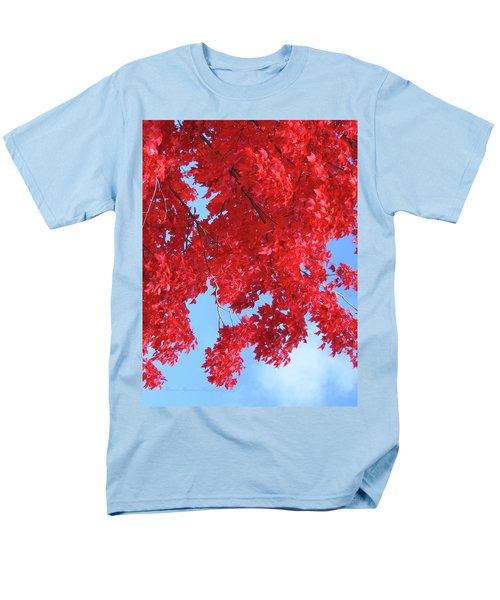 October In The Valley - Fire In The Sky Men's T-Shirt  (Regular Fit) by Brooks Garten Hauschild