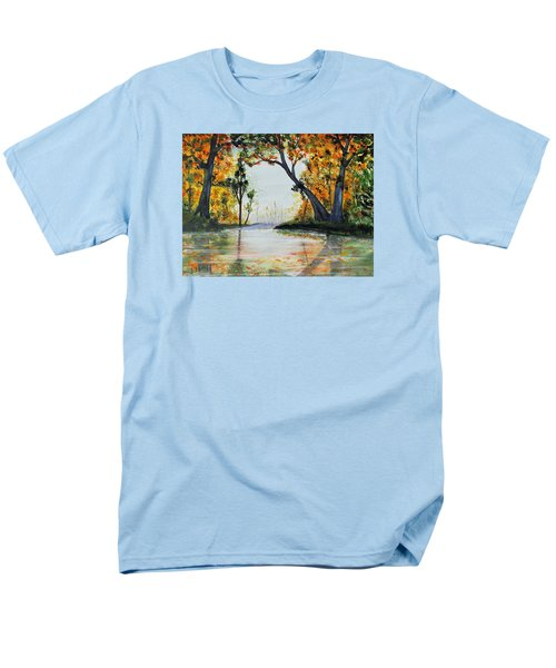 October Reflections Men's T-Shirt  (Regular Fit) by Jack G  Brauer
