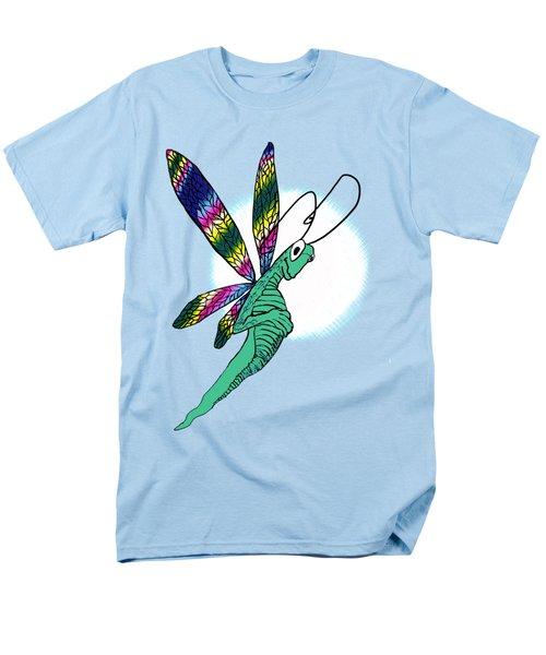 Odd Dragonfly Men's T-Shirt  (Regular Fit) by Adria Trail