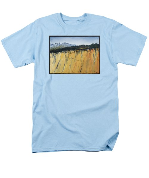 Of Bluff And Mountain Men's T-Shirt  (Regular Fit) by Carolyn Doe