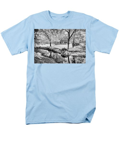 Men's T-Shirt  (Regular Fit) featuring the photograph Old Frontier House by Paul W Faust - Impressions of Light