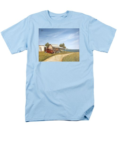 Old House By The Sea Men's T-Shirt  (Regular Fit) by Natalia Tejera