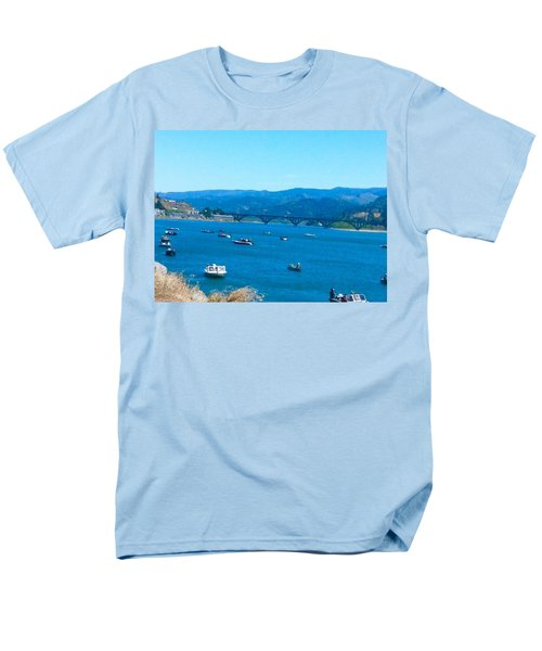 On Board For Fun  Men's T-Shirt  (Regular Fit)