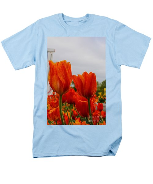 Men's T-Shirt  (Regular Fit) featuring the photograph On Fire by Robert Pearson