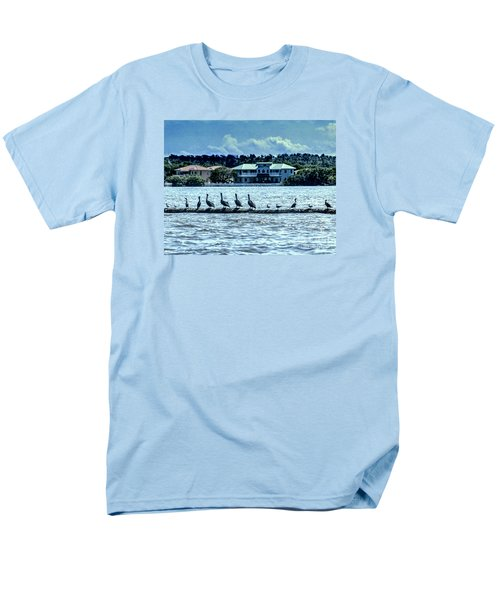 Men's T-Shirt  (Regular Fit) featuring the photograph On The Water by Ken Frischkorn