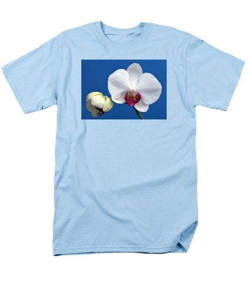 Orchid Out Of The Blue. Men's T-Shirt  (Regular Fit) by Terence Davis