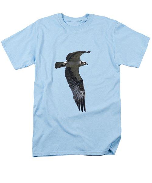 Osprey In Flight 2 Men's T-Shirt  (Regular Fit) by Priscilla Burgers