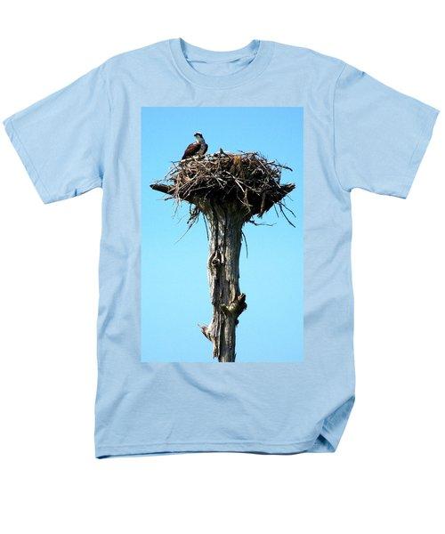 Osprey Point Men's T-Shirt  (Regular Fit) by Karen Wiles