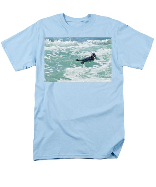 Otter At Montana De Oro Men's T-Shirt  (Regular Fit)