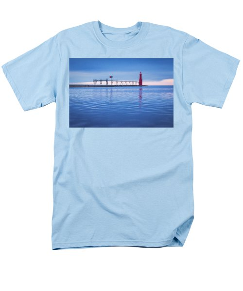 Men's T-Shirt  (Regular Fit) featuring the photograph Out Of The Blue by Bill Pevlor