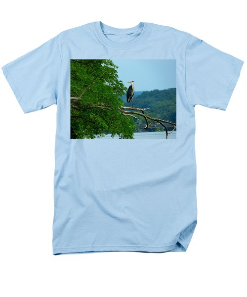 Men's T-Shirt  (Regular Fit) featuring the photograph Out On A Limb by Donald C Morgan