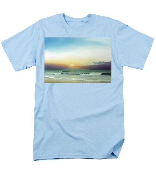 East Coast Sunrise Men's T-Shirt  (Regular Fit) by Albert Puskaric