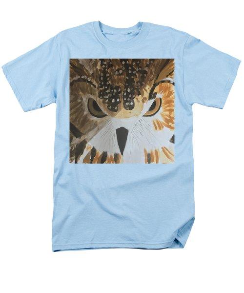 Owl Men's T-Shirt  (Regular Fit) by Donald J Ryker III