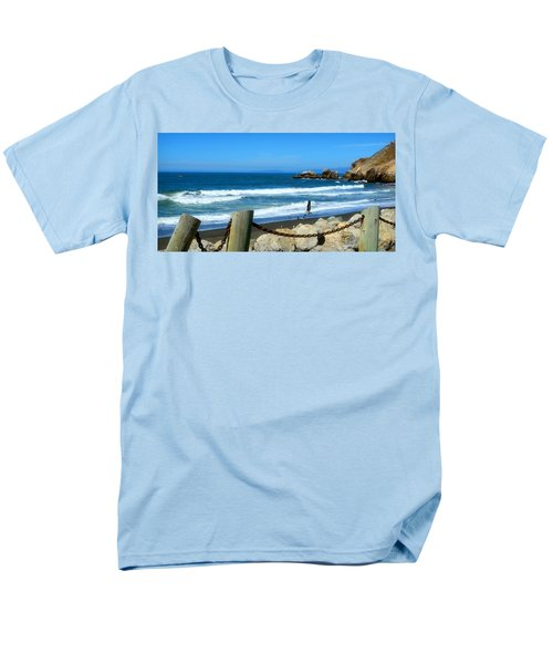Men's T-Shirt  (Regular Fit) featuring the photograph Pacifica Coast by Glenn McCarthy Art and Photography
