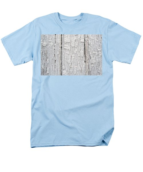 Men's T-Shirt  (Regular Fit) featuring the photograph Painted Aged Wood by John Williams