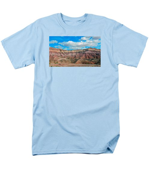 Painted Desert Men's T-Shirt  (Regular Fit) by Charlotte Schafer