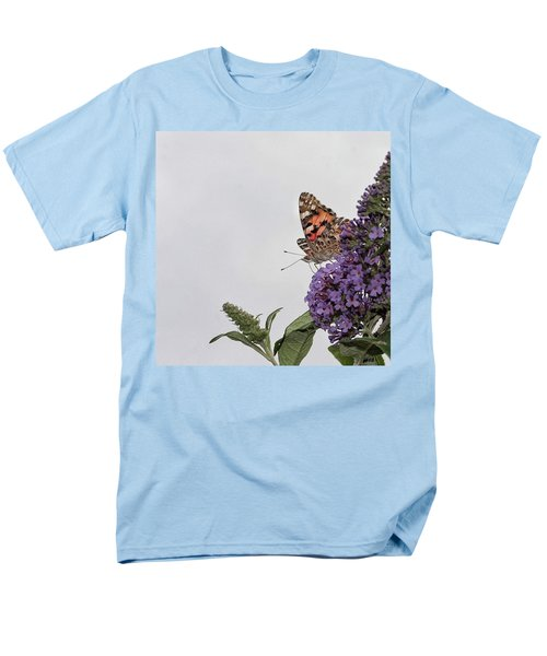 Painted Lady (vanessa Cardui) Men's T-Shirt  (Regular Fit) by John Edwards