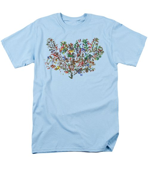 Men's T-Shirt  (Regular Fit) featuring the painting Painted Nature 2 by Sami Tiainen