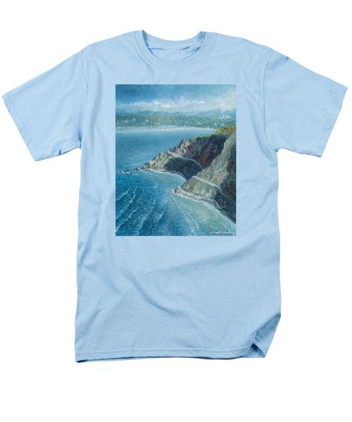 Palos Verdes Autumn Morning, No. 1 Men's T-Shirt  (Regular Fit) by Douglas Castleman