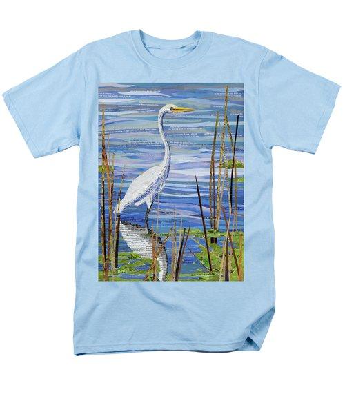 Paper Crane Men's T-Shirt  (Regular Fit) by Shawna Rowe