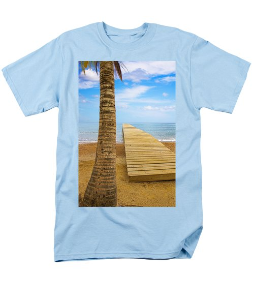 Paradise Men's T-Shirt  (Regular Fit) by Marlo Horne
