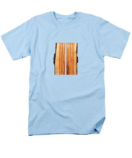 Parallel Wood Men's T-Shirt  (Regular Fit)