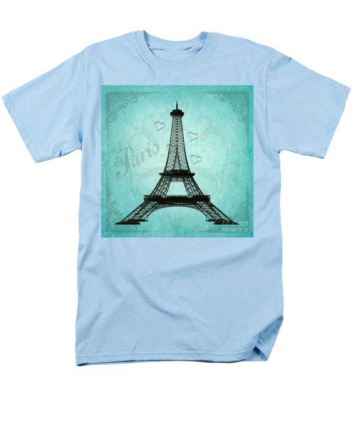 Paris Collage Men's T-Shirt  (Regular Fit) by Jim and Emily Bush