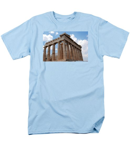 Men's T-Shirt  (Regular Fit) featuring the photograph Parthenon Side View by Robert Moss