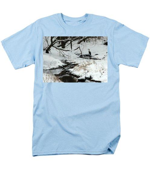 Patiently Waiting 2 Men's T-Shirt  (Regular Fit) by Paula Guttilla