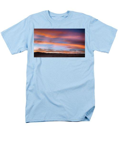 Pawnee Sunset Men's T-Shirt  (Regular Fit) by Monte Stevens