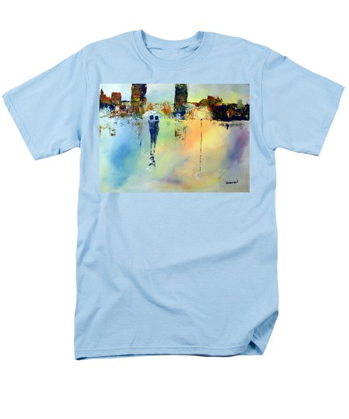 Peace At Twilight Men's T-Shirt  (Regular Fit) by Raymond Doward