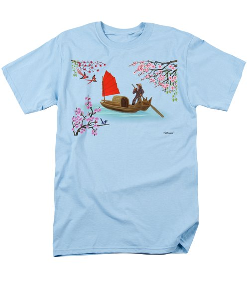 Peaceful Journey Men's T-Shirt  (Regular Fit) by Glenn Holbrook